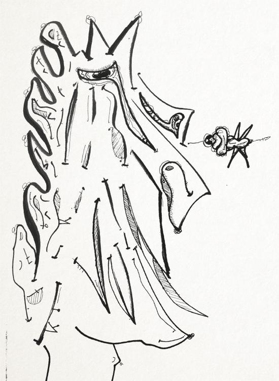 SketchTown - 005, sketch#sketchbook#drawing#ink#penink#characterdesign#character#fantasy#cartoon - rubbo | ello
