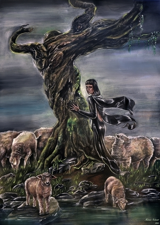 Black Sheep - illustration, drawing - adriennschmitt | ello