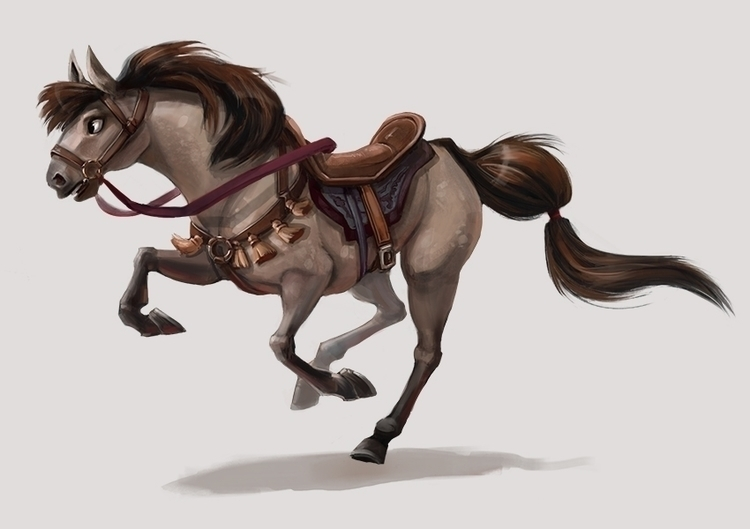 Loyal Family Steed, Redesign st - mel-1081 | ello