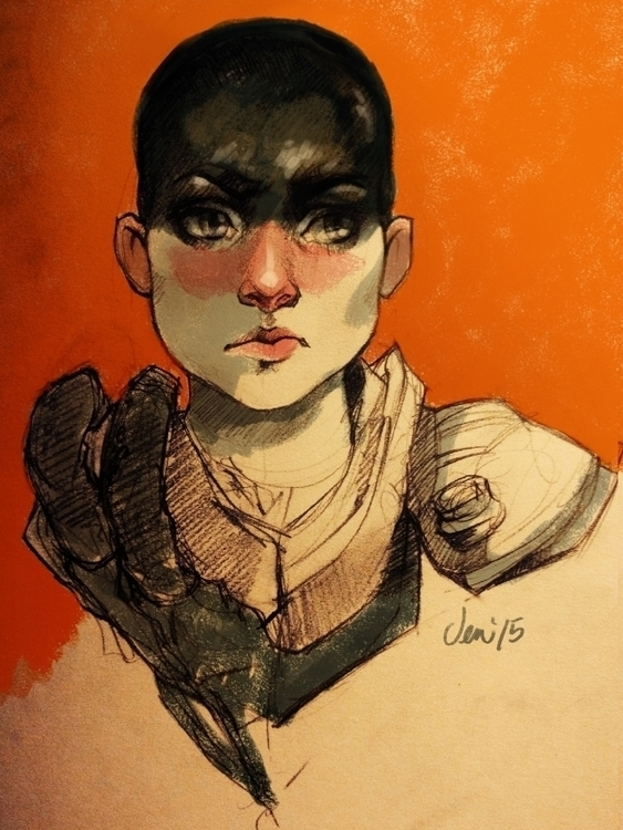 Furiosa - coloured version - furiosa - estirdalin | ello