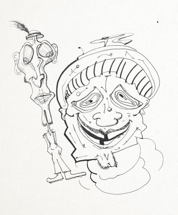 SketchTown - 014, sketch#sketchbook#drawing#ink#penink#characterdesign#character#fantasy#cartoon - rubbo | ello