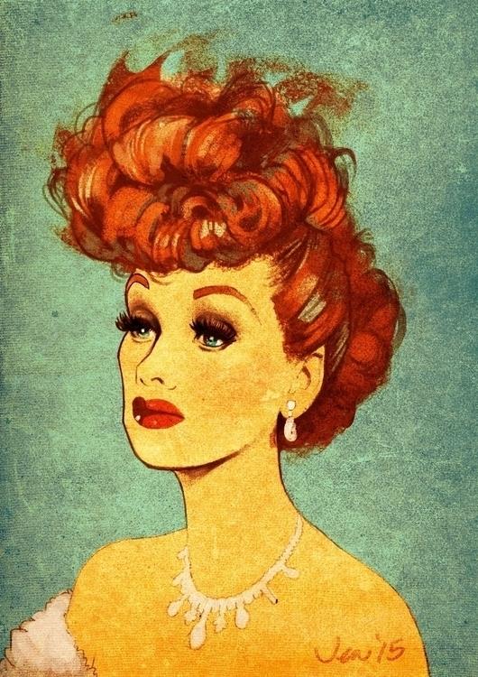 Lucille Ball sketch-dailies - lucilleball - estirdalin | ello