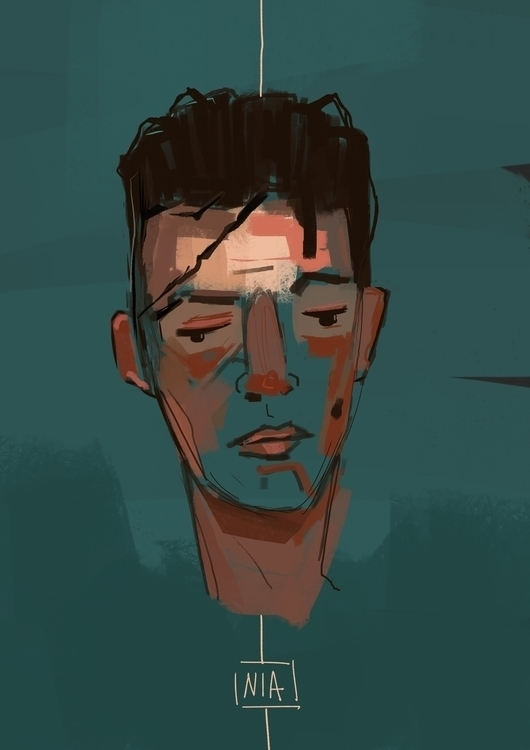Nia - 01, illustration, characterdesign - jordan_buckner | ello