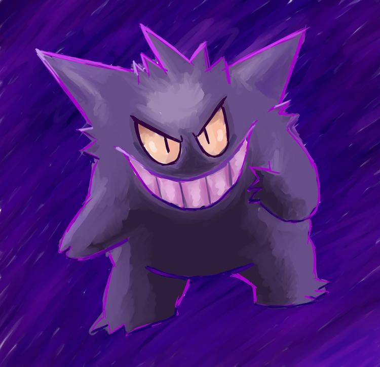 Gengar! favourite Pokemon - pokemon - rabbott-8438 | ello