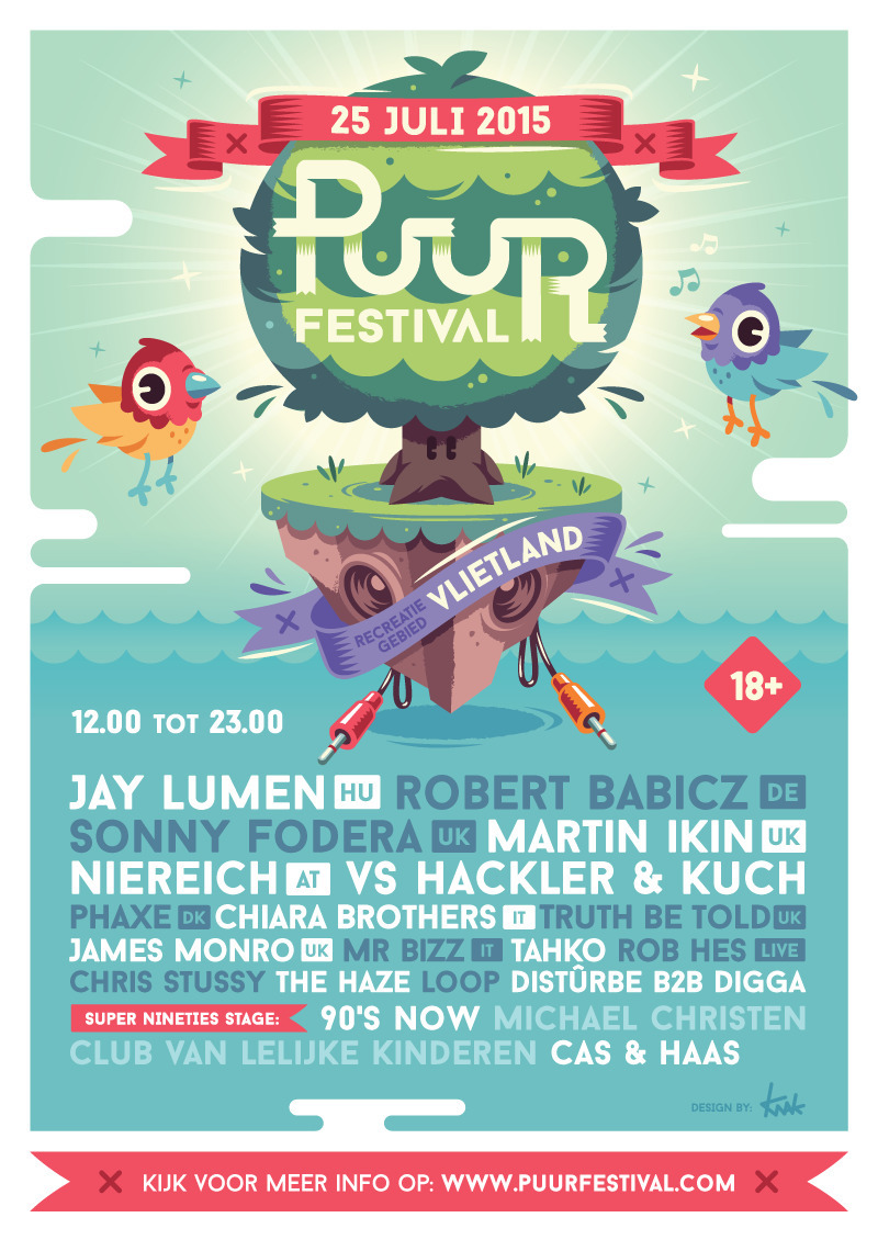 Puur Festival 2015 - illustration - knak-1575 | ello