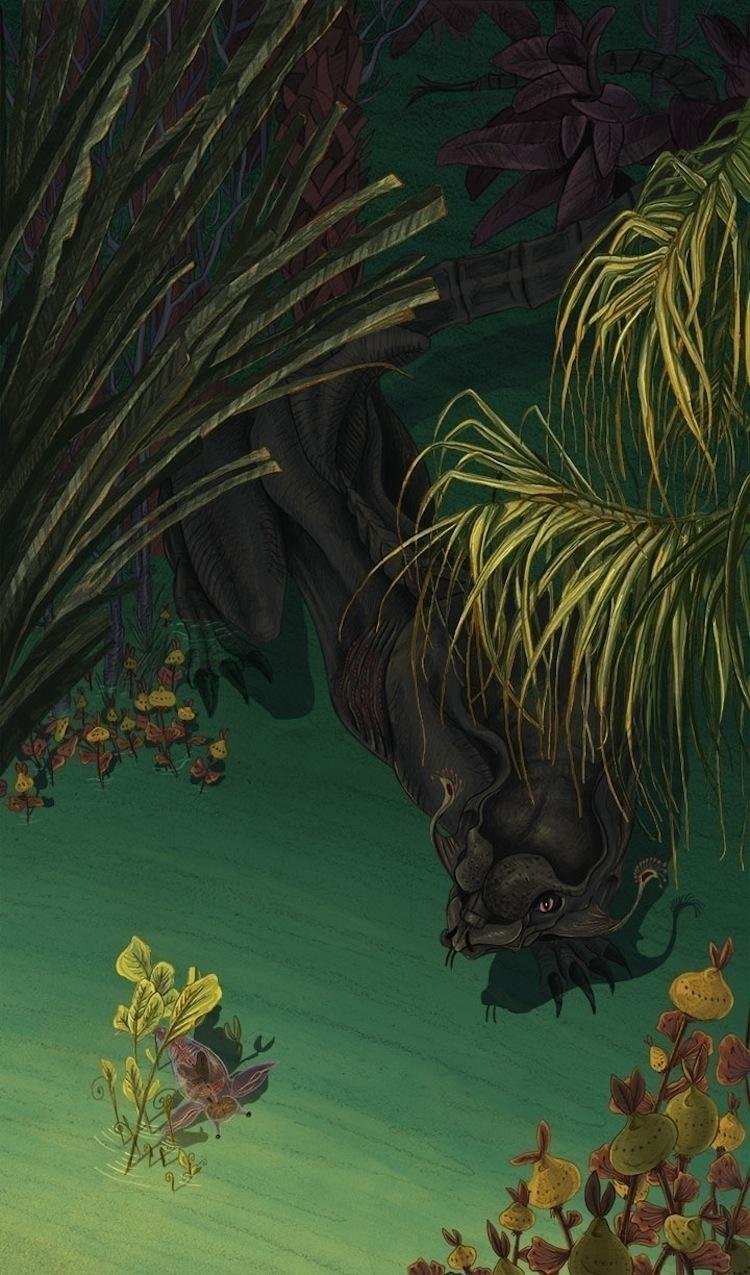 Verna prey - illustration, conceptart - abby_williams | ello