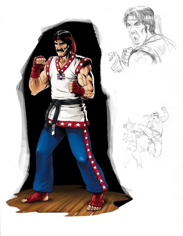 Character design - videogames, conceptart - alexfemenias | ello
