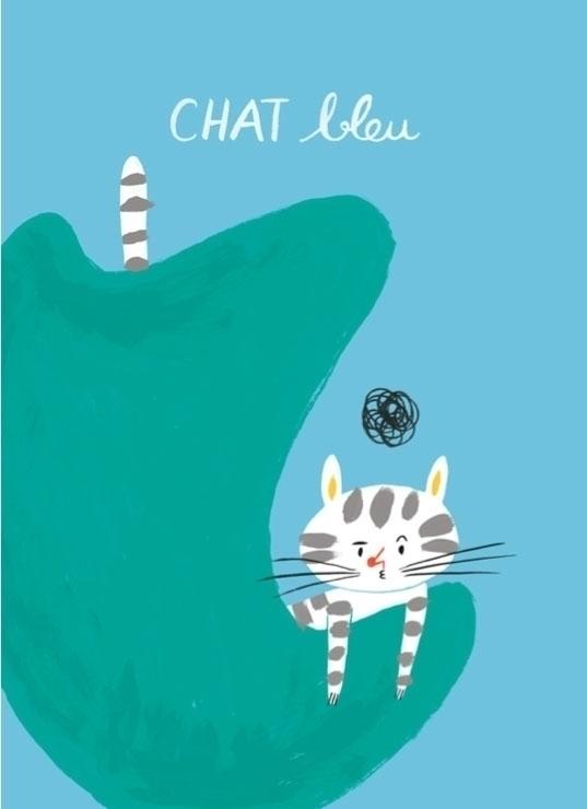 Grumpy French cat - cats, emmafarrarons - emmafarrarons | ello