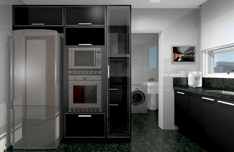 Cozinha Edifício Felicitá - Pal - brunooliveira-1131 | ello
