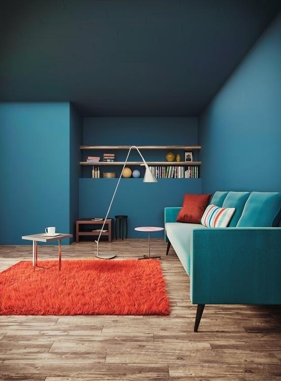 Interior Design, 3DRender - vizualrender | ello