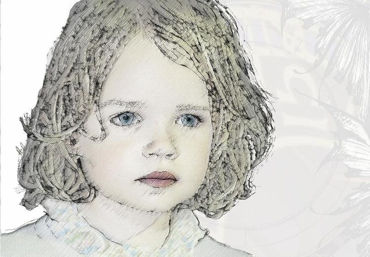 illustration, fineart, portrait - arte-8561 | ello