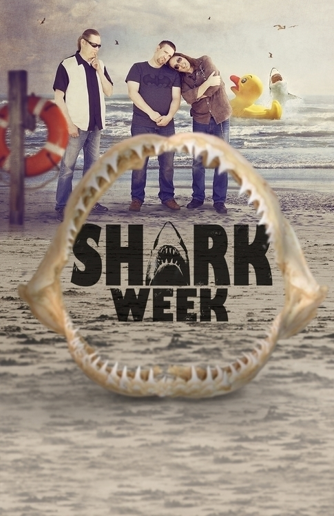 Shark Week Band (poster 2 - sharkweek - kimwhit-2847 | ello