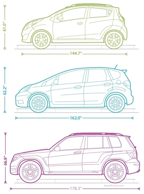 Car Line Illustrations - line, lineart - jamesprovost | ello
