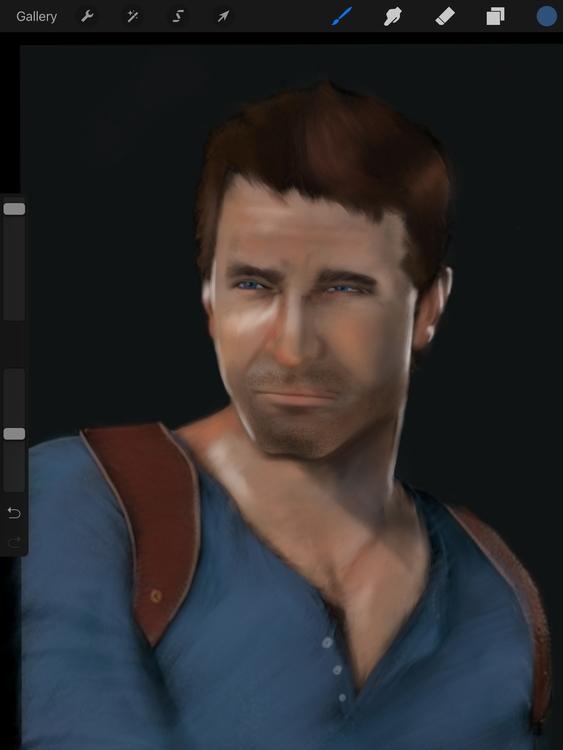 Nathan Drake, Uncharted 4 - illustration - chrissy-9520 | ello