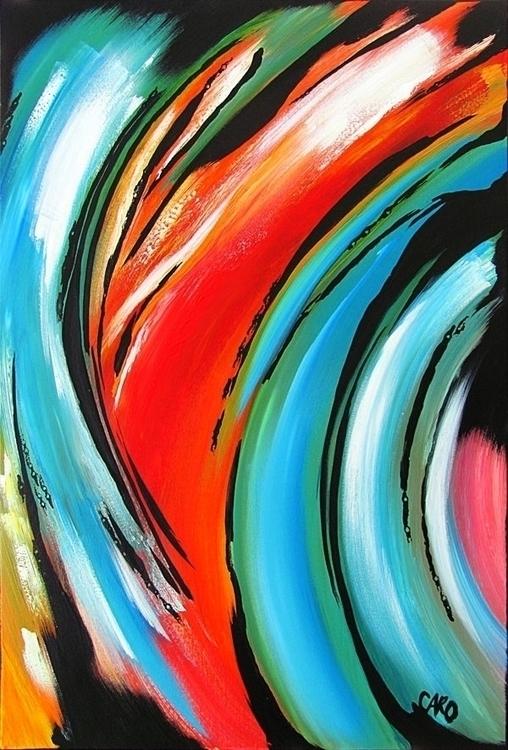 Mouvement 24po 36po - acrylic p - caro-4683 | ello