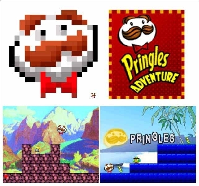 Java Game Pringles - javagame, pixelart - andreasasso | ello