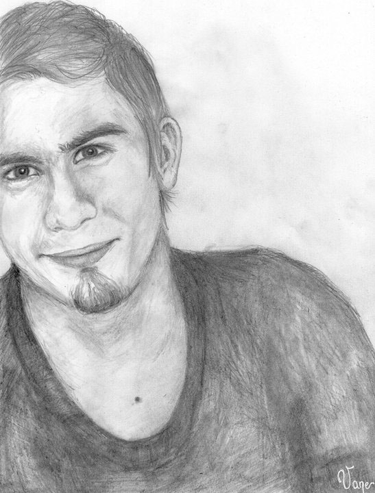 Portrait II - Hand drawn illust - vany-1436 | ello