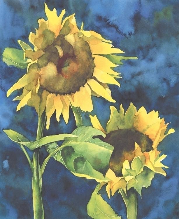 Sunflowers - sunflowers, flower - scottwulf | ello