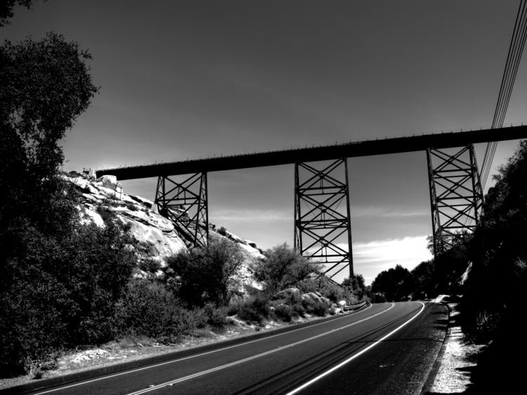 Rail Bridge - photography - rsdunphy | ello