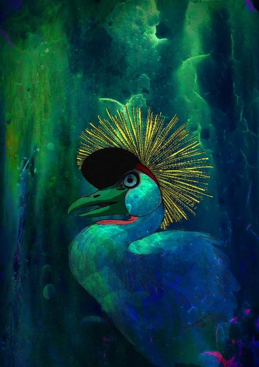 Grou, bird - amandaloyolla   ello