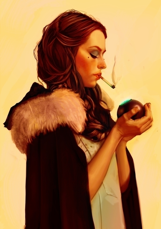 Evil Woman - *ball, magicball, Smoking - lucaboni | ello