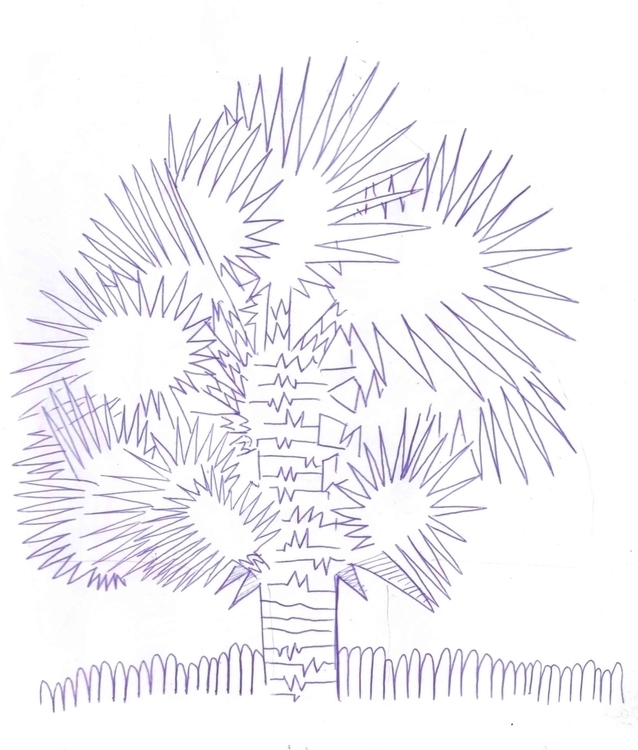 Dibujando en la calle - 7, tree - alfredointoci | ello