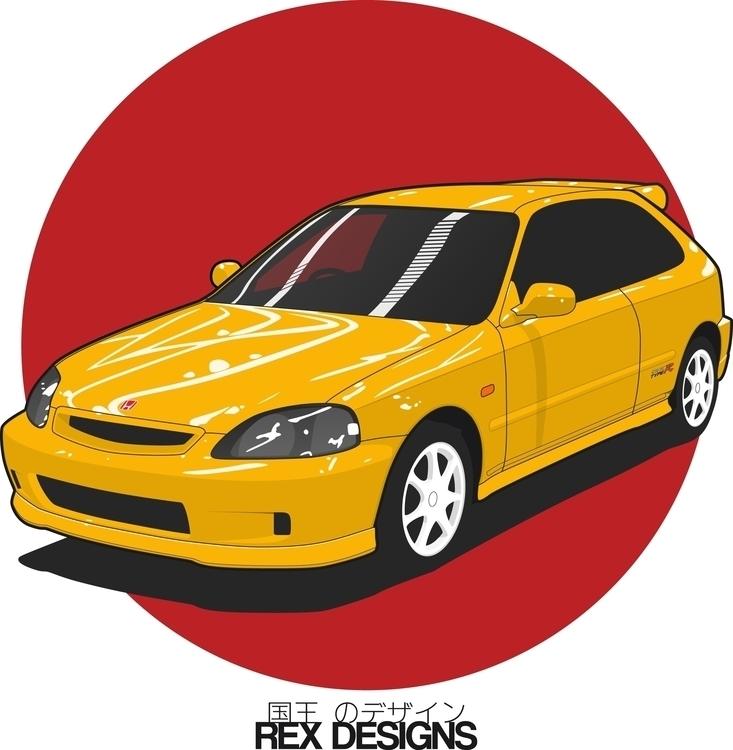 1st upload Nabaroo :) Honda Civ - rexdesigns | ello