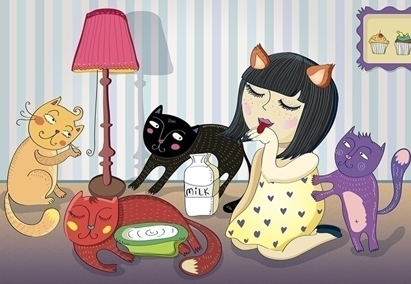 Kittens - kitten, cat, cats, catwoman - velcheva | ello