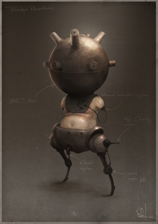 Personal Artwork - illustration - kufa   ello