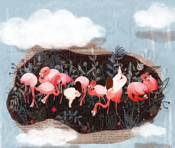 illustration - lettyice | ello