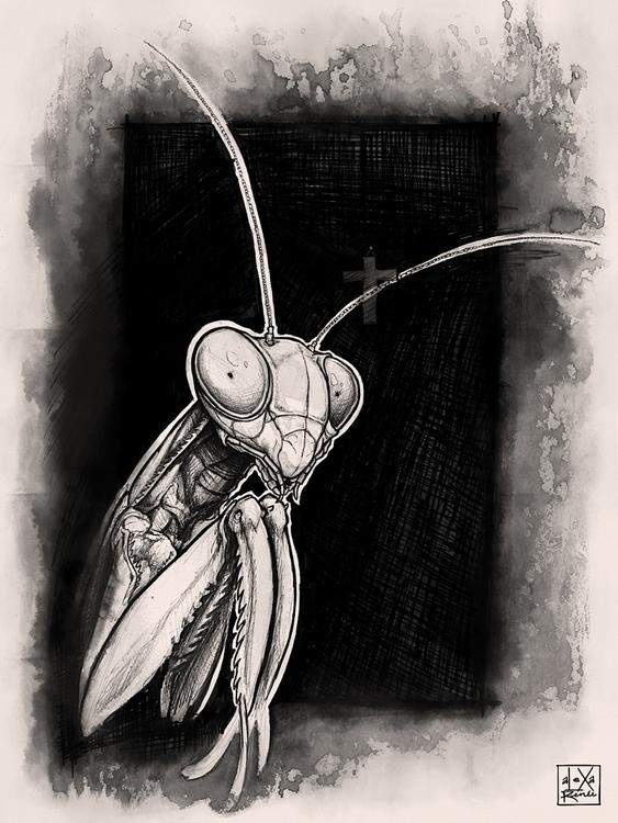 Nihil (Narrative - dark, drawing - monstalexa   ello