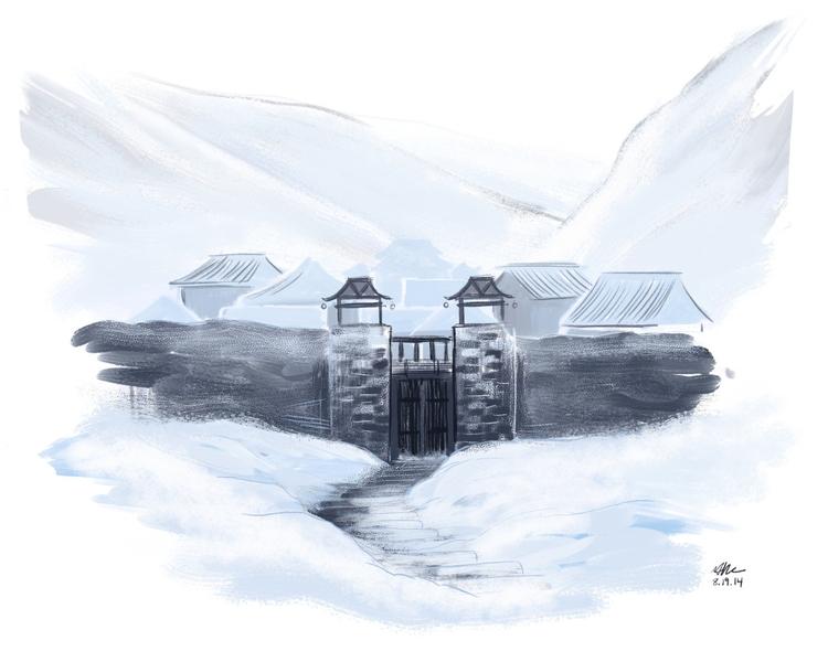 illustration, hetherev, environments - mernolan | ello