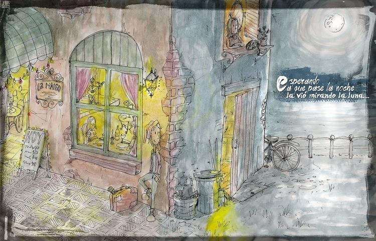 drawing, painting, illustration - nahuelullua | ello