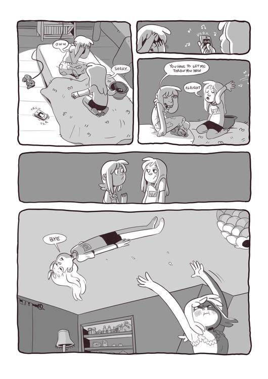 Sleepover! 4/4 - comics, autobio - iffykins | ello