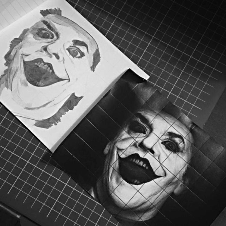 Joker - pencildrawing, art, sketch - seanfinlay_ | ello