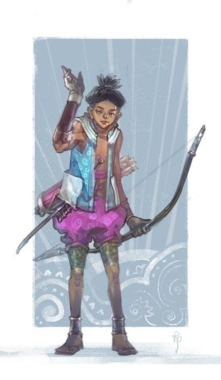 hunter - characterdesign, illustration - nguyenquochieu | ello