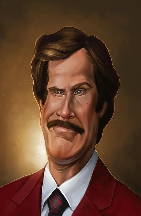 Stay Classy - caricature, portrait - nightshadeberry | ello