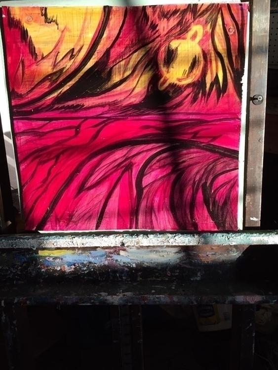 Nébul'art...MAH - painting - marcandreharbec | ello