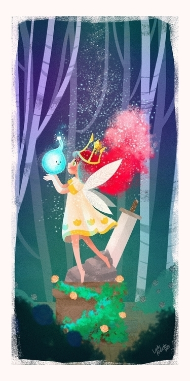 Aurora Child Light - childoflight - ladyalouette | ello