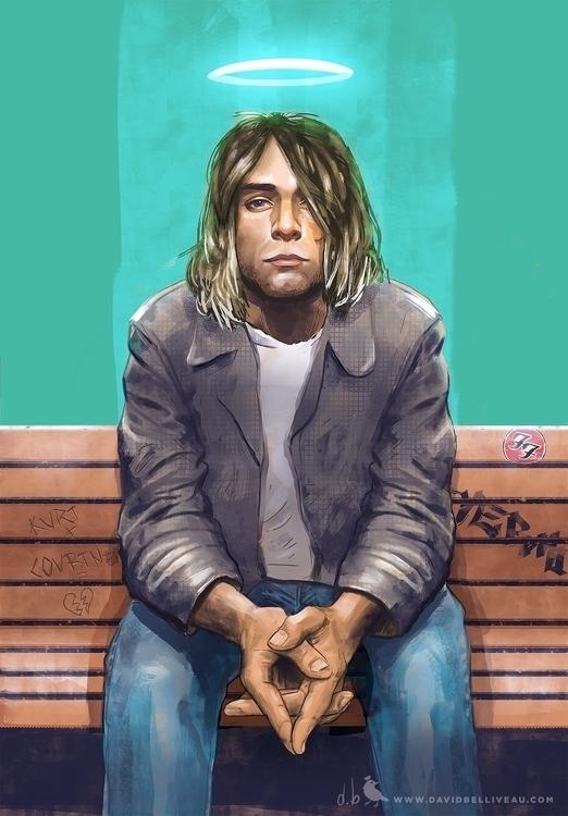 Tribute Kurt Cobain lead signer - davidbelliveau | ello