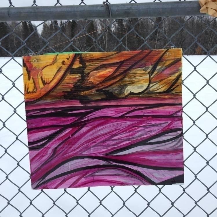 Nébul'art...MAH 2016 - painting - marcandreharbec | ello