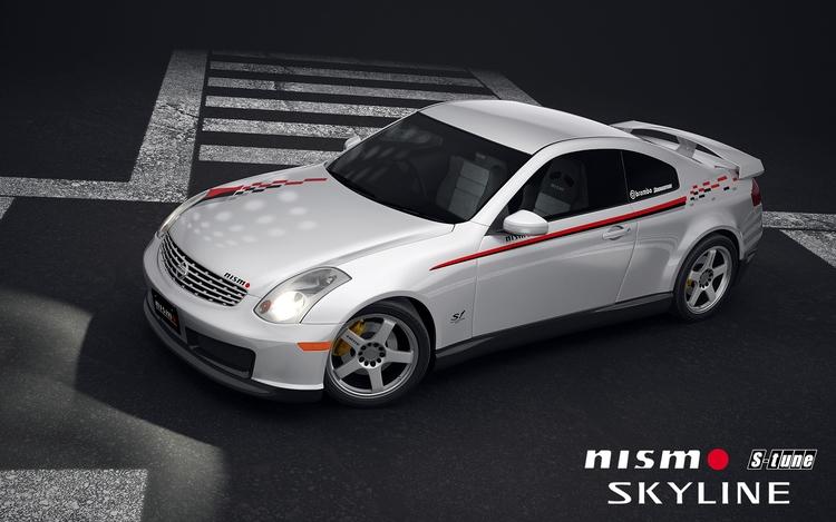 Nissan Skyline Coupe V35 Nismo - pawlito | ello