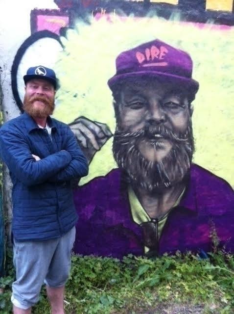 Gummi Portrait Mural - streetart - margeirdire | ello