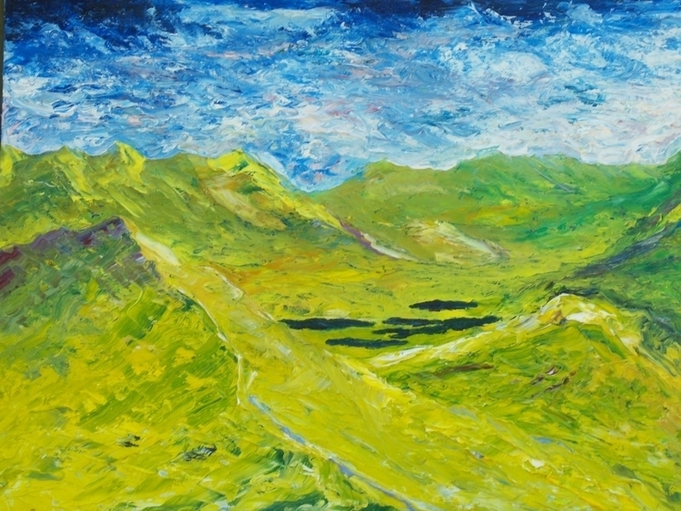 Lakes Killarney - painting, Ireland - irishart | ello