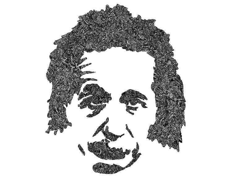 Intricacies Albert Einstein ong - vanzandesign | ello