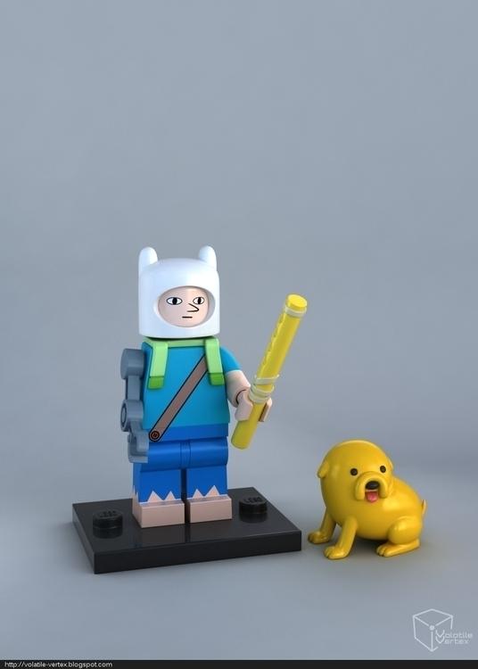 LEGO Farmworld Finn minifig - modo701 - volatilevertex | ello