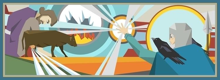 illustration - joningiberg | ello