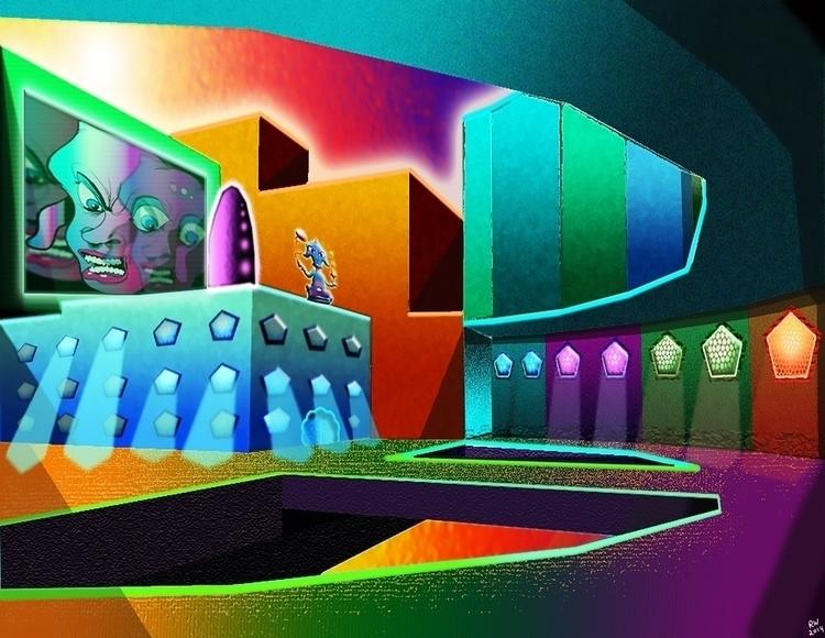 Neon City Concept Digital Work - wilkinso-5391 | ello