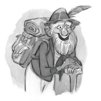 Storyteller - storytelling, oldman - jessicawarrick | ello