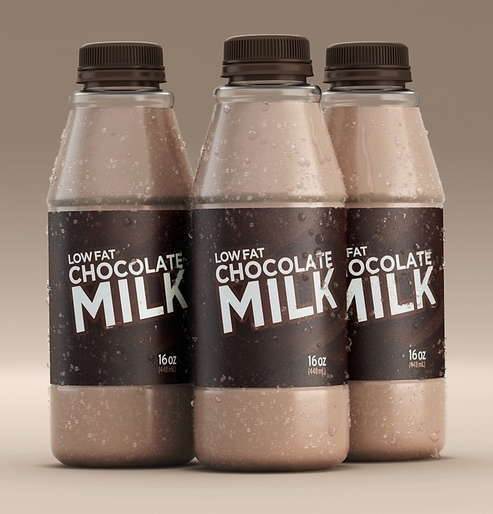 Chocolate Milk Bottles - milk, chocolate - scottwulf | ello